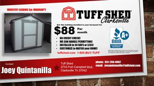 TUFFSHED for Sale in Paducah, KY
