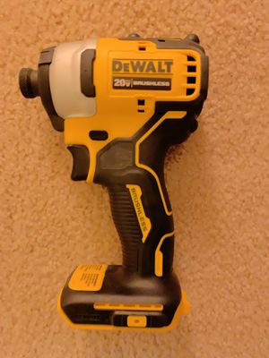 """New Dewalt DCF809B 1/4"""" 20V 20 Volt Max Atomic Compact Brushless Impact Driver for Sale in Tustin, CA"""