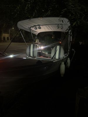 14 Ft Aluminum Boat with 25HP Mercury Outboard Motor for Sale in San Jose, CA