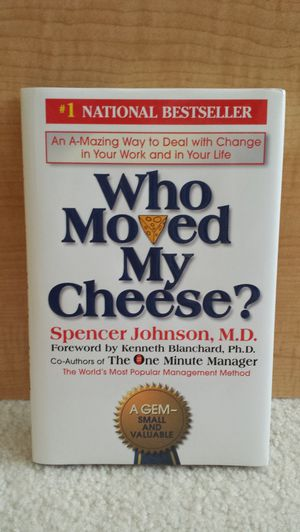 Brand New - Who Moved My Cheese? Book. for Sale in St. Petersburg, FL