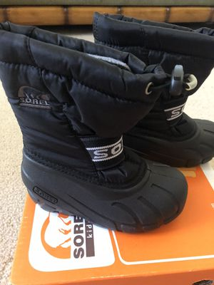 Brand New Toddler Size 10 Snow Boots for Sale in North Las Vegas, NV