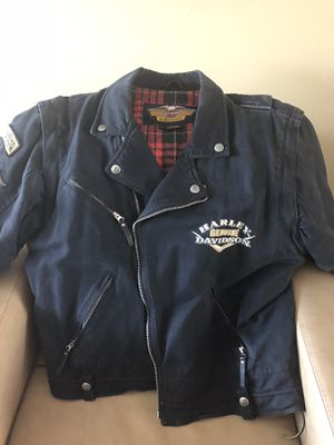 Genuine denim Harley jacket for Sale in Arlington Heights, IL