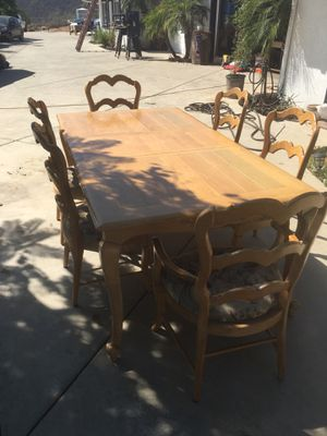 Dining table & 6 chairs for Sale in Escondido, CA