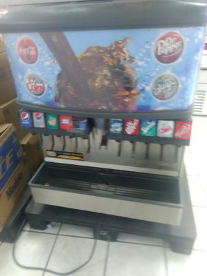 Fountain drink dispenser 8 flavors for Sale in Del Valle, TX
