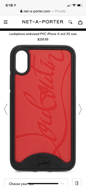 Louboutin IPhone X Case for Sale in Jackson Township, NJ