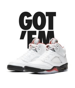 JORDAN 5 FIRE REDS SIZE 11 for Sale in Centreville, IL