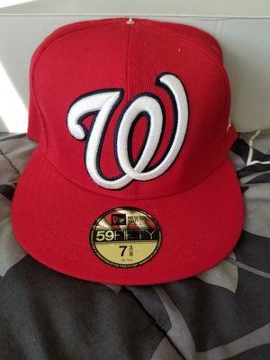 New Era Washington Nationals Fitted Cap for Sale in Washington, DC