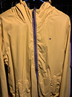 Yellow Tommy Hilfiger Jacket for Sale in Aurora, IL