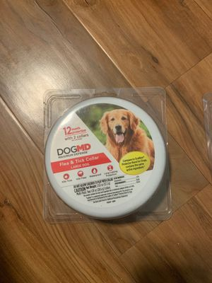 Dog flea and tick collars for Sale in Raleigh, NC