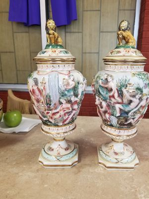 Capodimonte Vases for Sale in Norfolk, VA