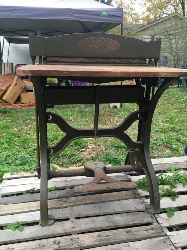 Antique Rosback Perforator