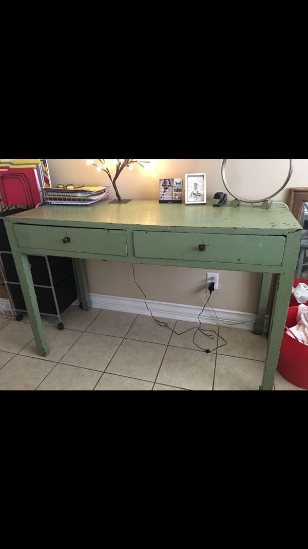 Antique Desk And Pottery Barn Chair For Sale In Niceville
