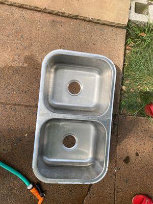 Double stainless steel sink for Sale in Manassas, VA