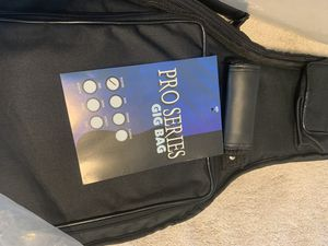 pro series gig bag for electric guitar for Sale in Kissimmee, FL