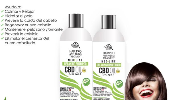 Hair Pro Anti Aging Treatment Shampoo Conditioner Prevents Hair