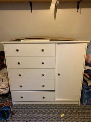 Free White Dresser for Sale in Wheat Ridge, CO