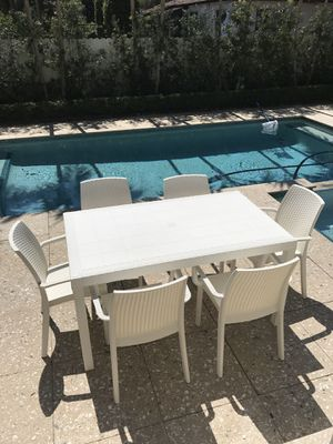 Outdoor-Italian- Table and chairs for Sale in Miami, FL