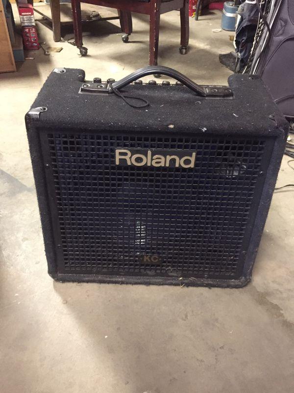 Roland kc-150 amplifier