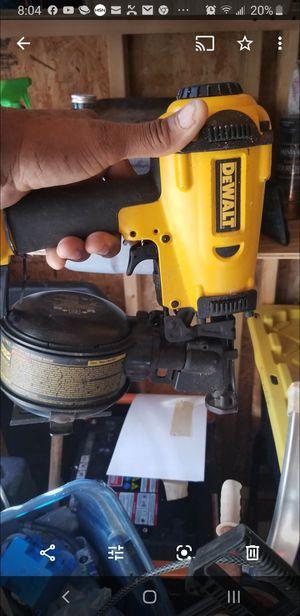 Dewalt roofing nail gun for Sale in MONTGOMRY VLG, MD