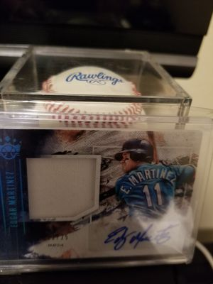 Edgar signed ball and card for Sale in Everett, WA