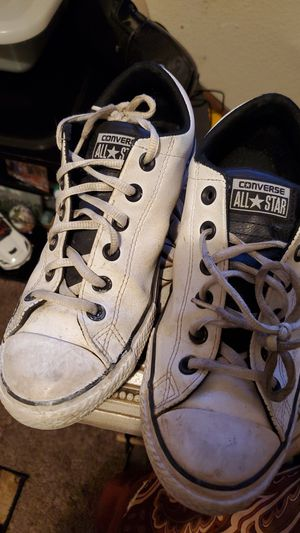 Converse boys size 5 take then for 6.00 they just need to be cleaned for Sale in San Diego, CA