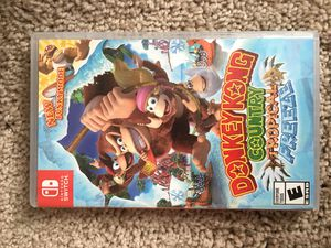 Nintendo switch donkey Kong county tropical freeze for Sale in Laveen Village, AZ