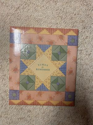 Times to Remember Scrapbook for Sale in Metamora, IL