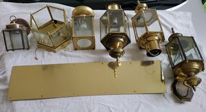 Exterior light fixtures, door knobs, and more for Sale in Purcellville, VA
