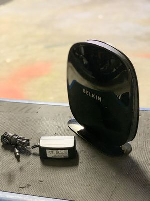 Belkin Dual-Band Wireless Router Wi-Fi F9K1106v1 and Power Supply for Sale in Pflugerville, TX
