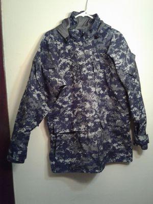 blue digital cortex jacket/rain jacket/tent.rain pants. for Sale in Cleveland, OH