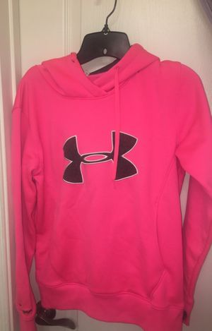 "Hot pink RARE under armor ""breast cancer"" storm women's sweatshirt for Sale in Ashburn, VA"