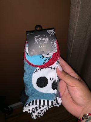 5 pack Disney nightmare before Christmas socks for Sale in Los Angeles, CA