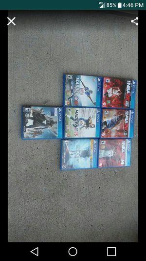 7 PlayStation4 Games for Sale in Nashville, TN