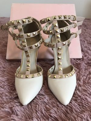 Nude stud heels for Sale in Cape Coral, FL