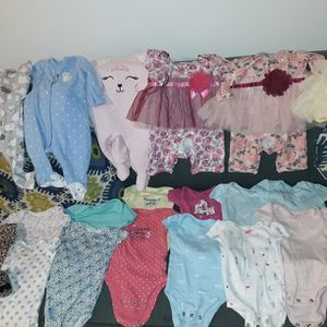 0-3 Monthes Baby Girl Clothes for Sale in Seattle, WA