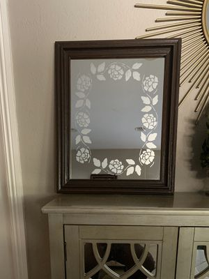 Rose wall mirror for Sale in Covina, CA
