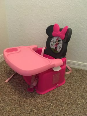 Minnie Mouse booster seat for Sale in Port St. Lucie, FL