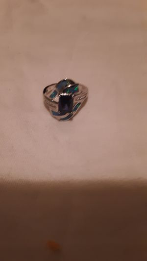 Native American indian zuni inlay ring for Sale in St. Louis, MO