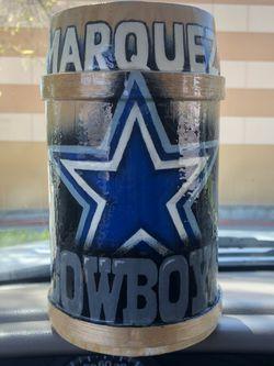 Dallas Cowboys New Beer  Mug for Sale in Mount Madonna, CA