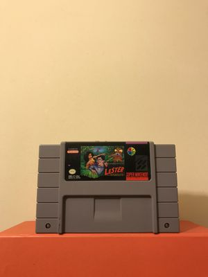 Super Nintendo Game: Lester The Unlikely Cartridge In Great Condition Plays Fine for Sale in Reedley, CA