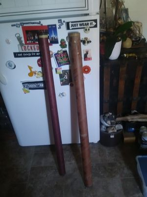 2 bamboo fishing poles for Sale in Alameda, CA