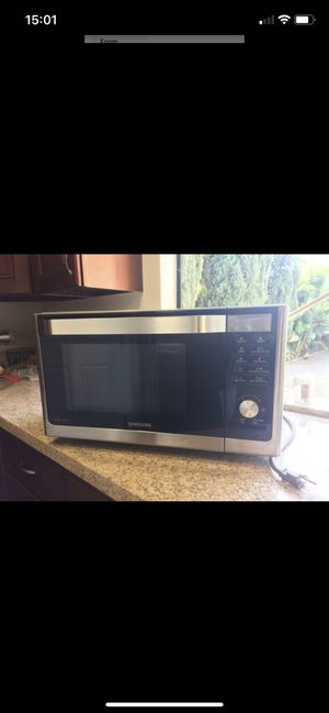 Stainless steel microwave oven for Sale in San Luis Obispo, CA