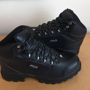 Fila Work Boots Size 9.5 for Sale in Rancho Cucamonga, CA