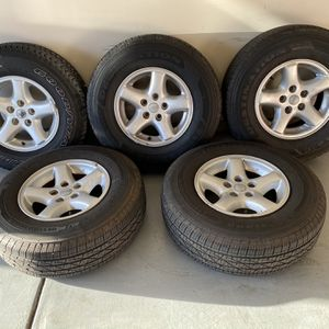 "Jeep Wrangler 15"" Wheels And Tires for Sale in Gastonia, NC"
