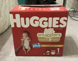 Diaper Bundle - Size 1 for Sale in Lake Dallas, TX