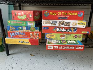 13 kids puzzles and games for Sale in Cooper City, FL