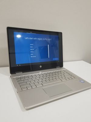 Laptop HP Pavilion x360 Convertible 14 inches intel i5 8 gen 8 gb RAM 126 SSD 14m-dh0003dx touchscreen notebook computer gaming for Sale in Wheeling, IL
