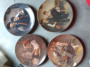 Norman Rockwell collectable plates for Sale in Hutchinson, KS