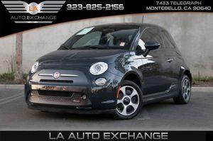 2016 FIAT 500e for Sale in Montebello, CA