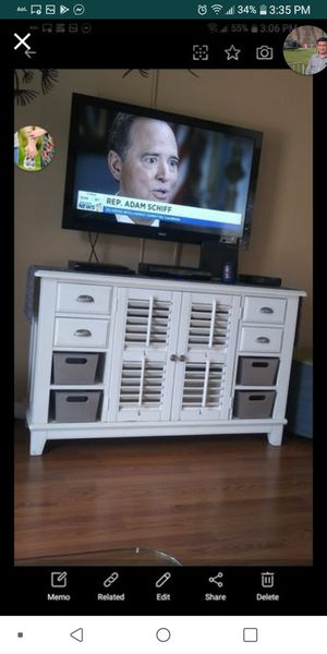 Cabinet, farmhouse style, nice size. for Sale in CHAMPIONS GT, FL